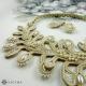 Souprava kapradí poseté perlami