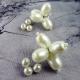 Náušnice perličkové květy