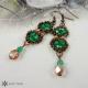 Náušnice drobné smaragdové 2
