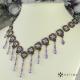 Elegantní úzký náhrdelník