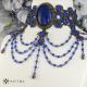 Obojek s lapisem lazuli