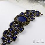 Náramek s lapisem lazuli – extra